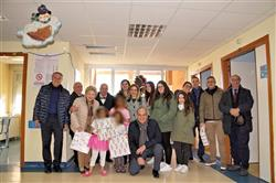 KC Messina Zancle - Epifania con regali per i bambini del Policlinico Universitario di Messina