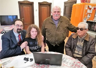 Il KC Follonica dona un computer dotato di specifici software ad una bambina ipovedente