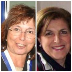 Federica Pellegrino e Rosalba Fiduccia