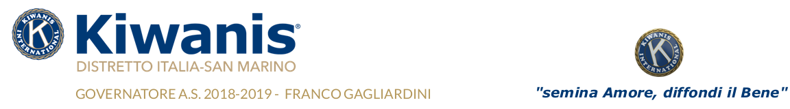 Homepage del Kiwanis Distretto Italia-San Marino