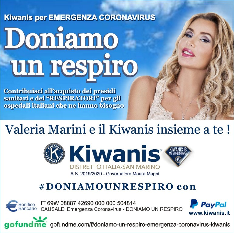 EMERGENZA CORONA VIRUS – DONIAMO UN RESPIRO