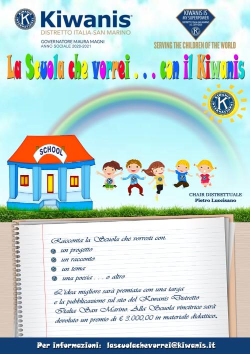 La scuola che vorrei....con il Kiwanis